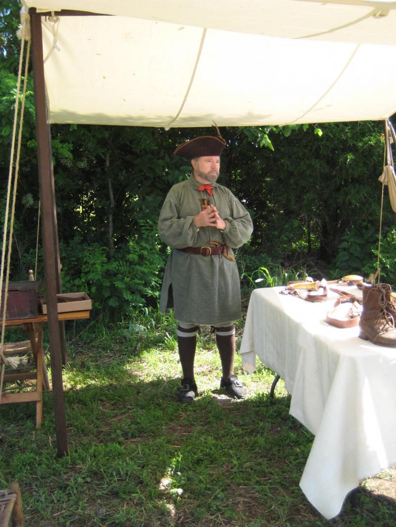 Information & Demonstrations by the Sons of the American Revolution